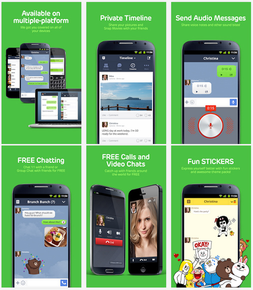LINE is Free Calls & Free Messages | Download LINE App