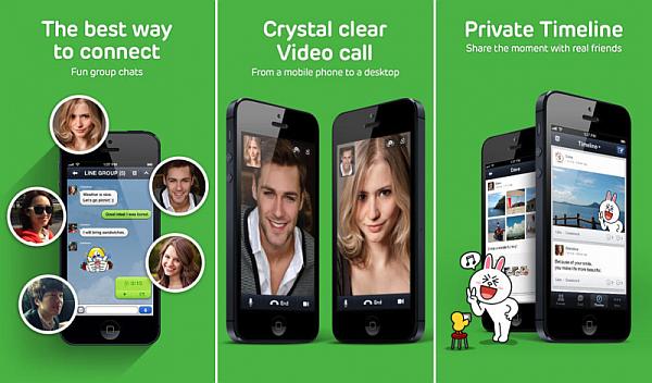 Features of LINE Messenger App